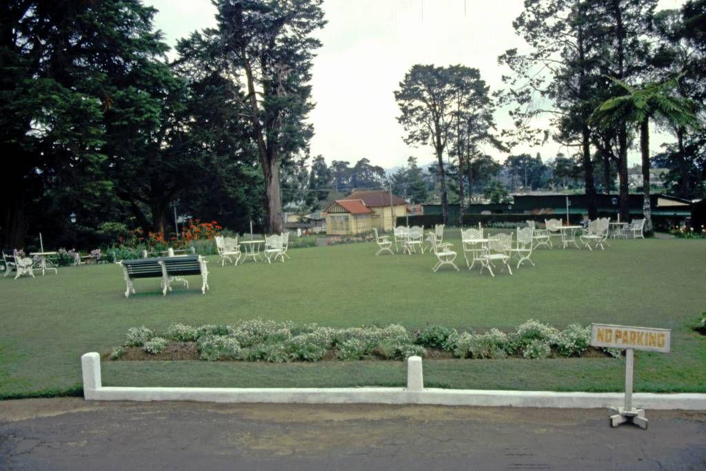 Nuwara Eliya, Grand Hotel, Garten