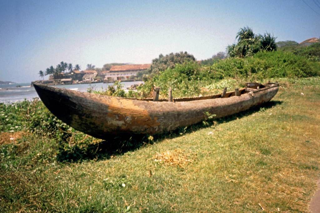 Galle, Blick vom Ufer in Richtung Fort