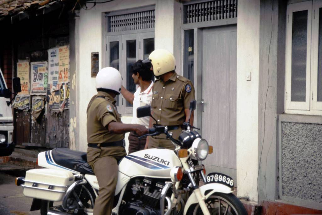 Galle, Polizei