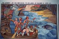 Hikkaduwa, Sunils Beach Hotel, Gemälde