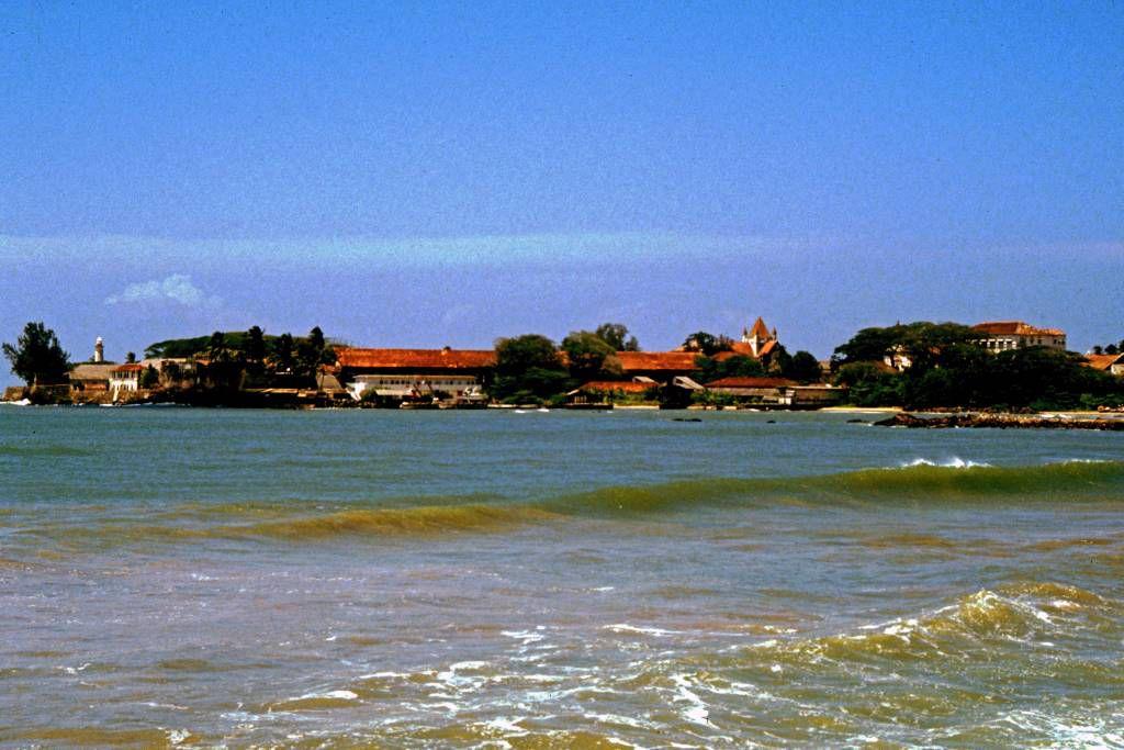 Galle, Blick auf das Fort