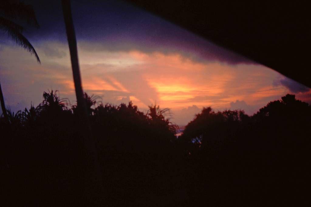 Koggala Beach Hotel, Sonnenuntergang