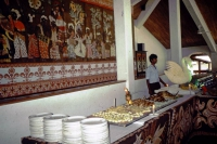 Koggala Beach Hotel, Buffet
