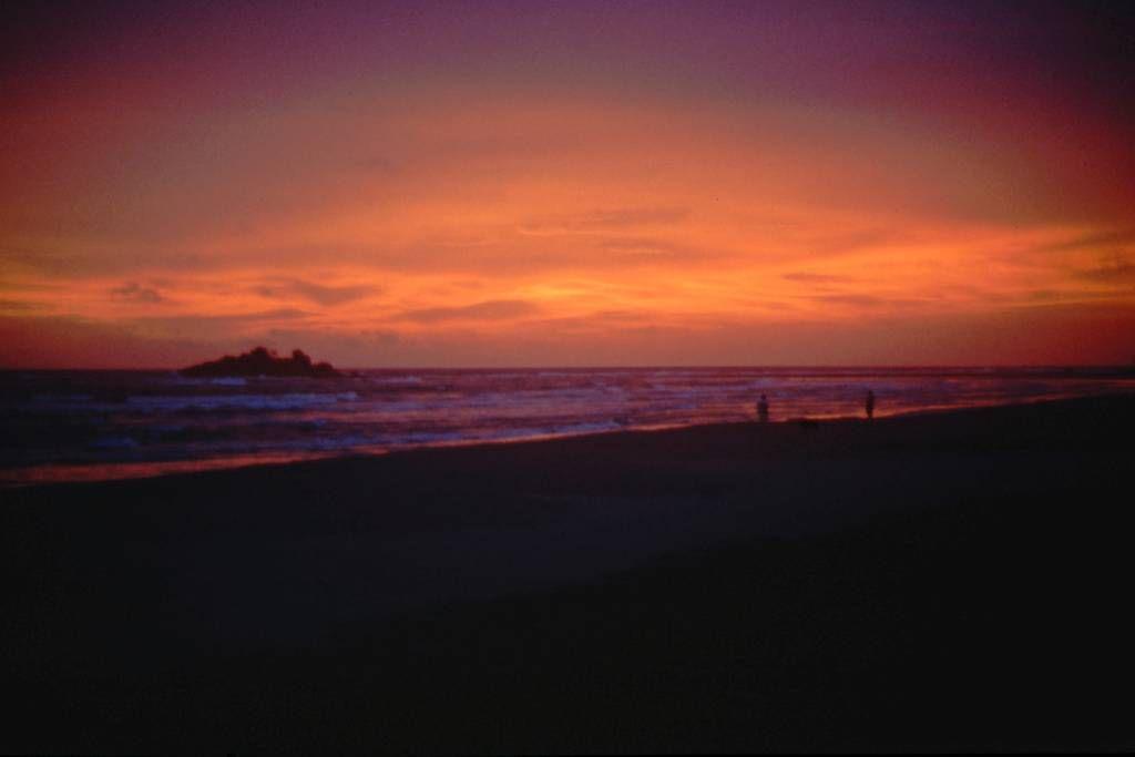 Beruwala, Sonnenuntergang am Strand