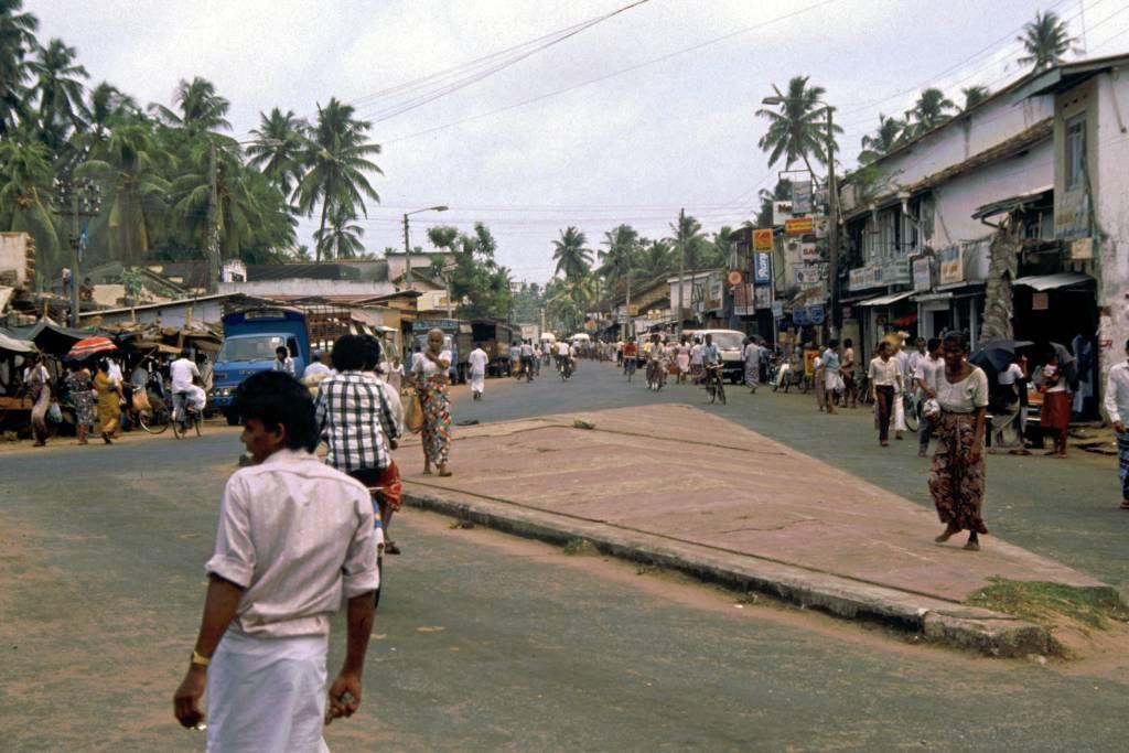 Aluthgama, Straßenszene