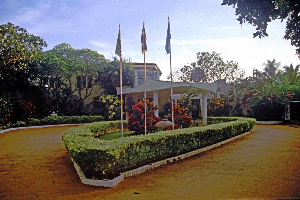 Beruwala, Hotel Swanee, Eingang