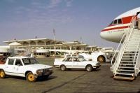 Dubai, Flughafen auf dem Rückflug