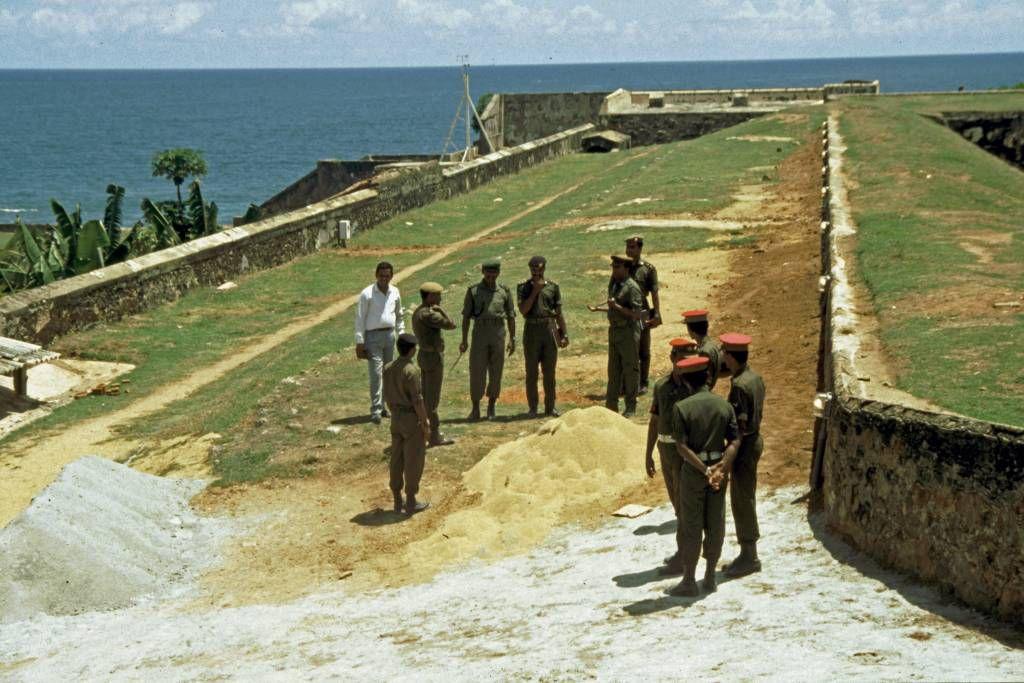 Galle, im Holländischen Fort