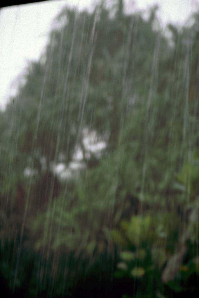 Koggala, Monsunregen
