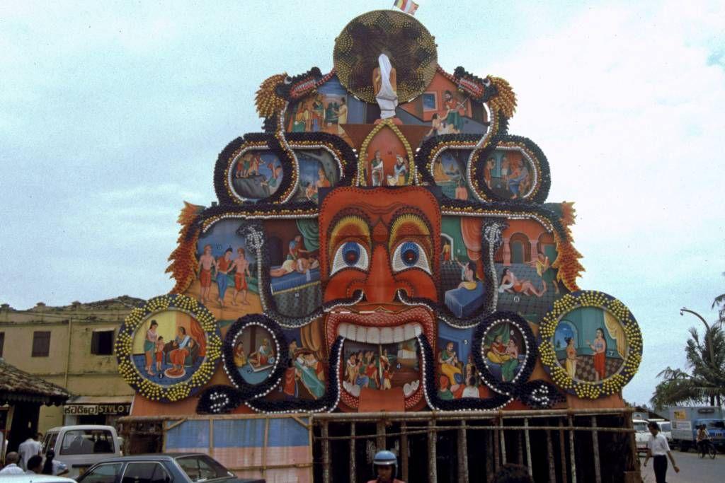 Hikkaduwa, Tempel