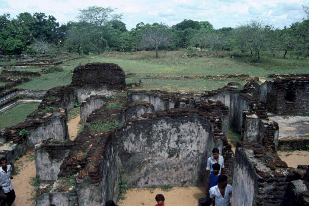 Polonnaruwa, alter Palast