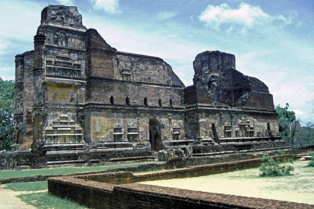 Polonnaruwa, Palast