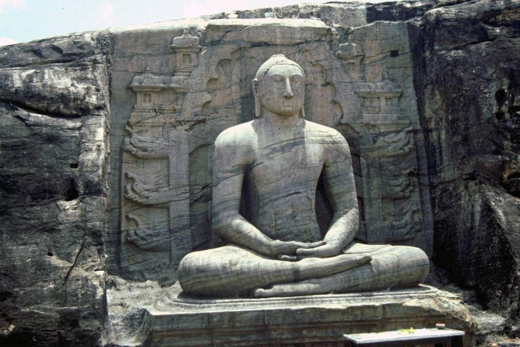 Polonnaruwa, sitzender Buddha