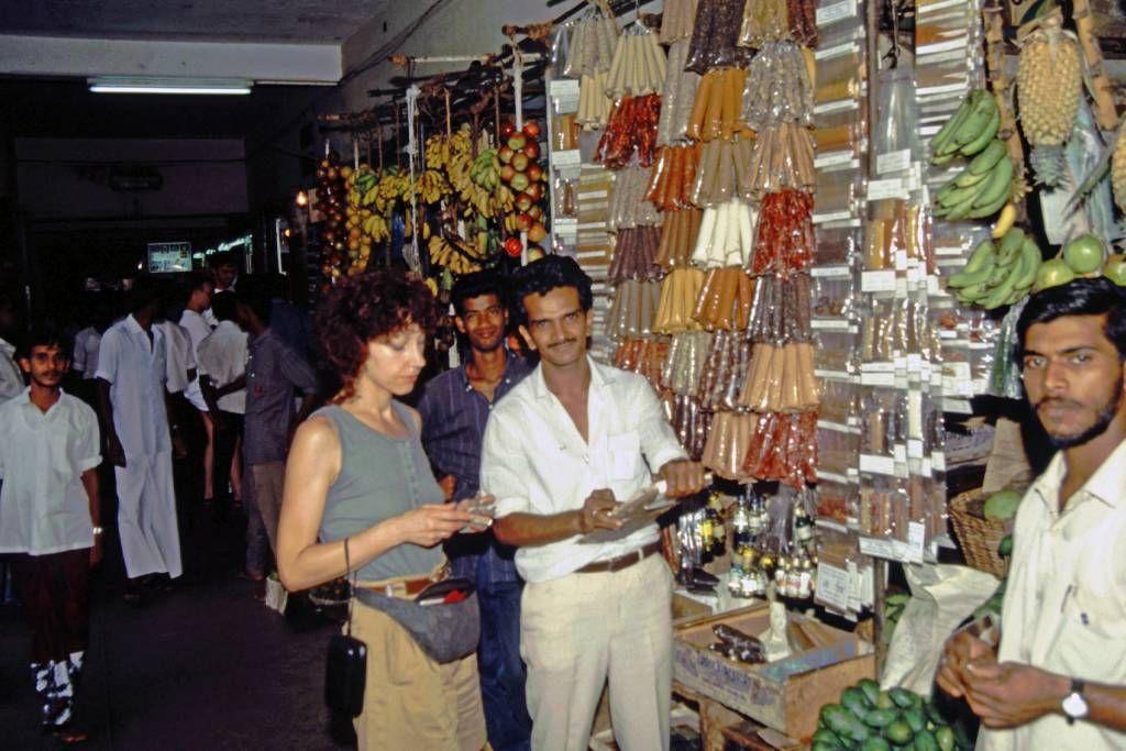 Kandy, in der Markthalle
