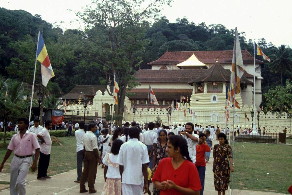 Kandy, der Tempel des Zahns