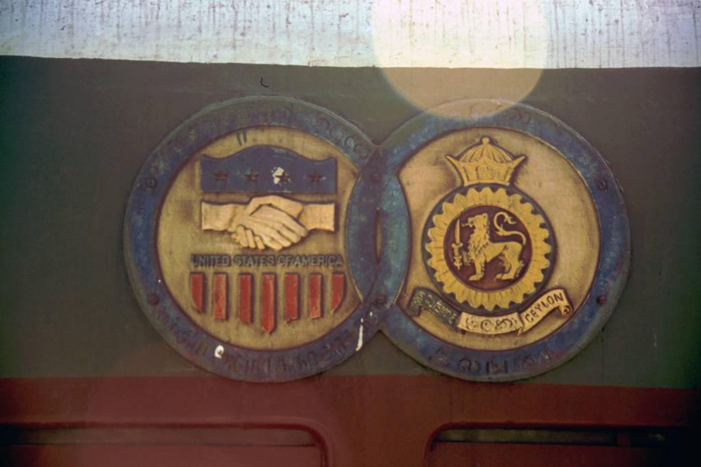 Ahangama, Logos der Lok