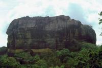 Sigiriya, der Sigiriyafelsen