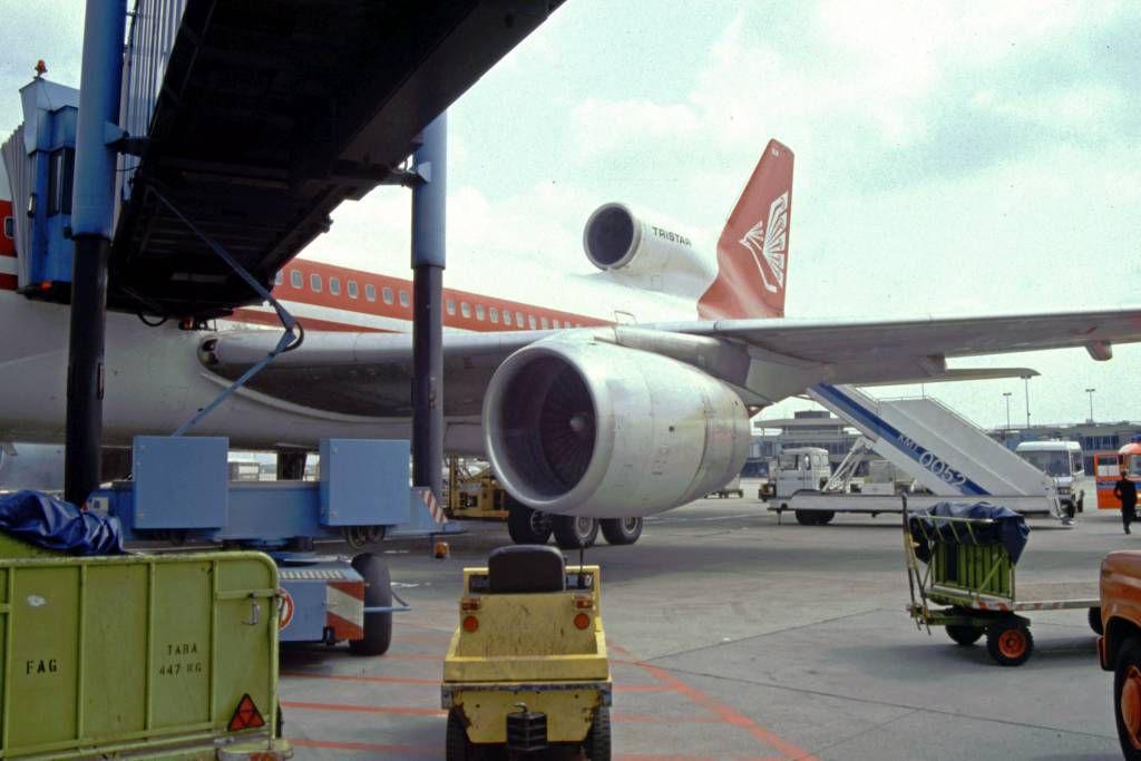 Abflug mit Air Lanka in Frankfurt