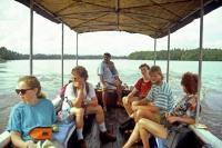 Ausflug auf dem Bentota Fluss