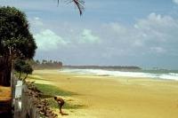 Sunils Beach Hotel, Strand