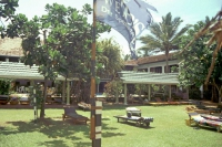 Sunils Beach Hotel, Garten