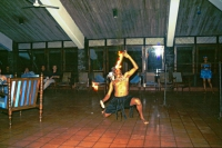 Koggala Beach Hotel, Feuerschlucker