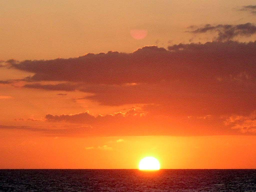 Sonnenuntergang am Strand von Koggala