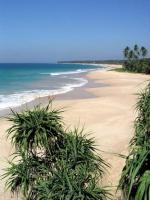 Strand vor dem Koggala Beach Hotel Richtung Norden