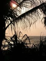 Abendstimmung vor dem Koggala Beach Hotel