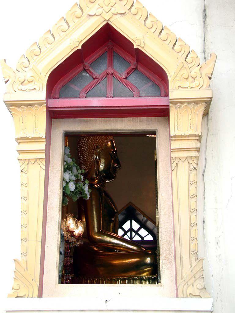 Der goldene Buddha im Wat Traimit