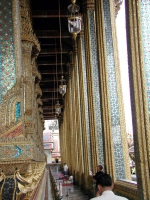 Innerhalb des Wat Phra Kaeo
