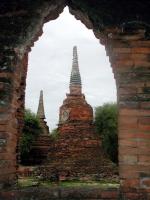 Pagoden im Wat Sri Sanphet von Ayutthaya (Ayuthaya)
