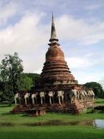 Elefantenchedi in Sukhothai