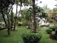 Garten des Pinnacle Resort Golden Beach in Jomtien