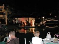 Thailändischer Abend im Pinnacle Resort Jomtien, Blick auf die Bühne