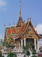 Der Tempel Wat Hua Lamphong an der Rama IV Road