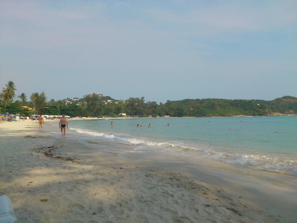 Ko Samui, Choeng Mon Beach, Strand