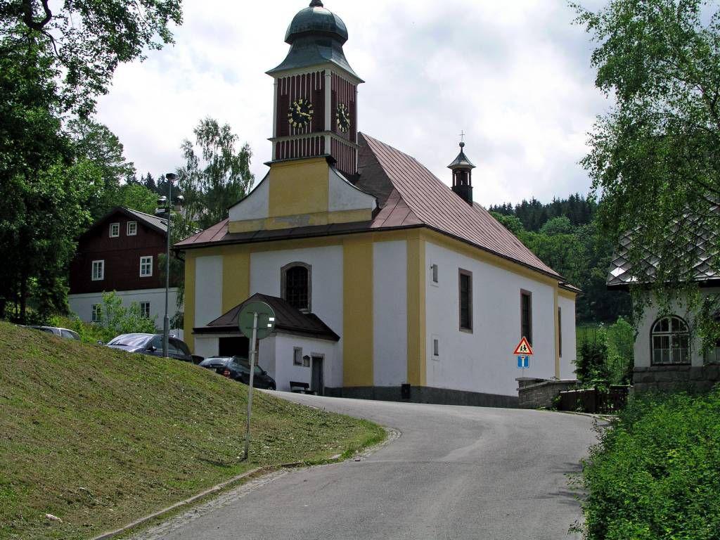 Spindlermühle, Kirche Peter und Paul