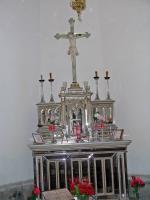 Harrachov, hl. Elisabeth Kapelle, Altar