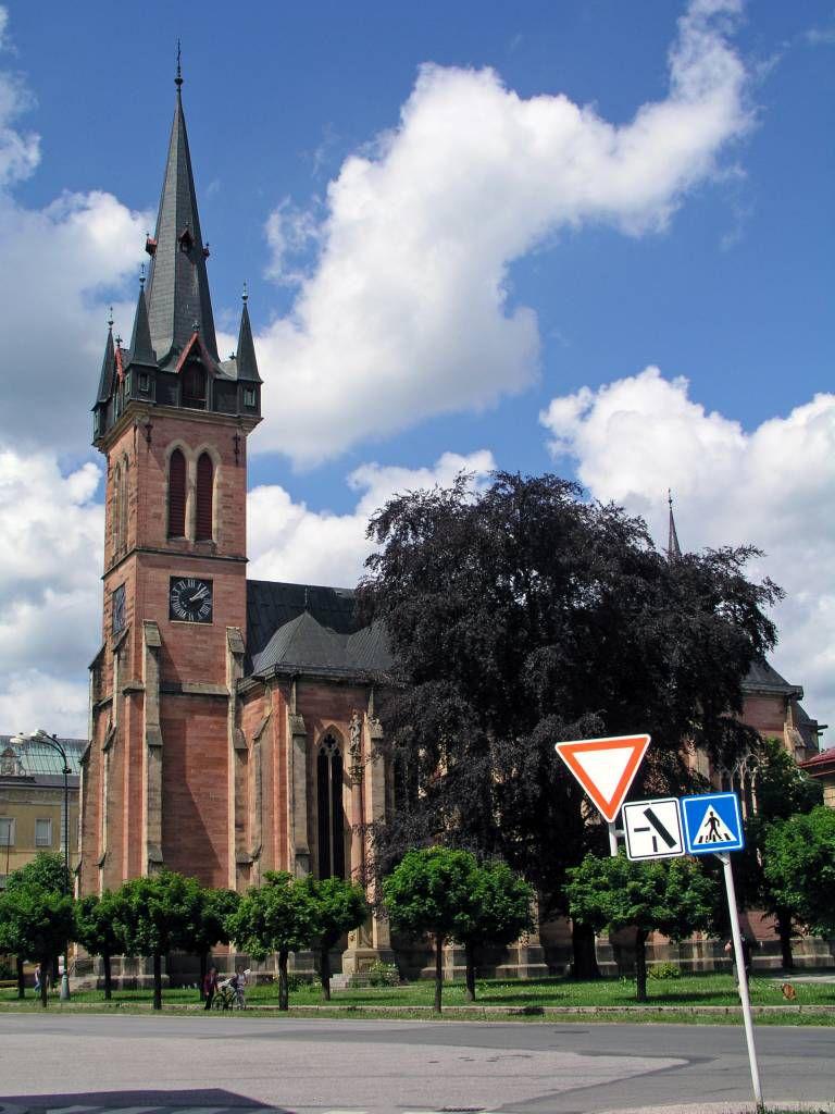 Hohenelbe, Kirche des hl. Laurentius