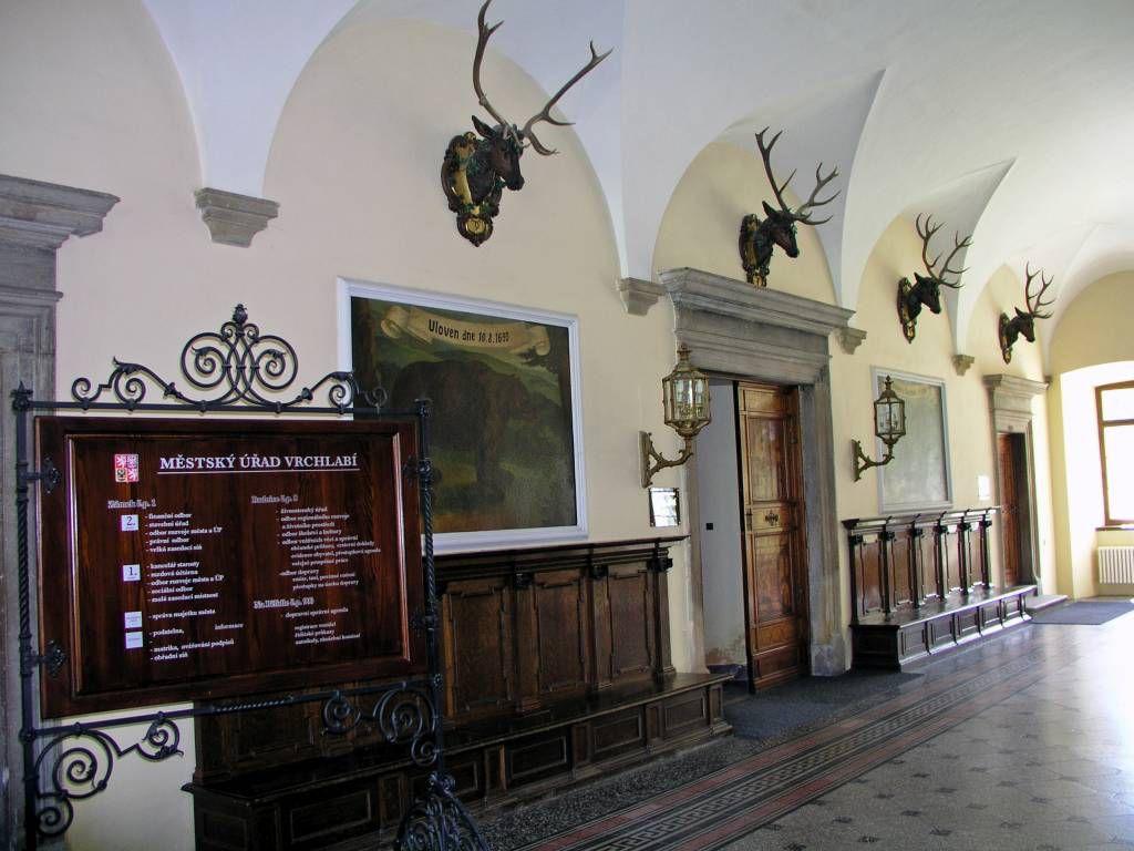 Hohenelbe, im Schloss