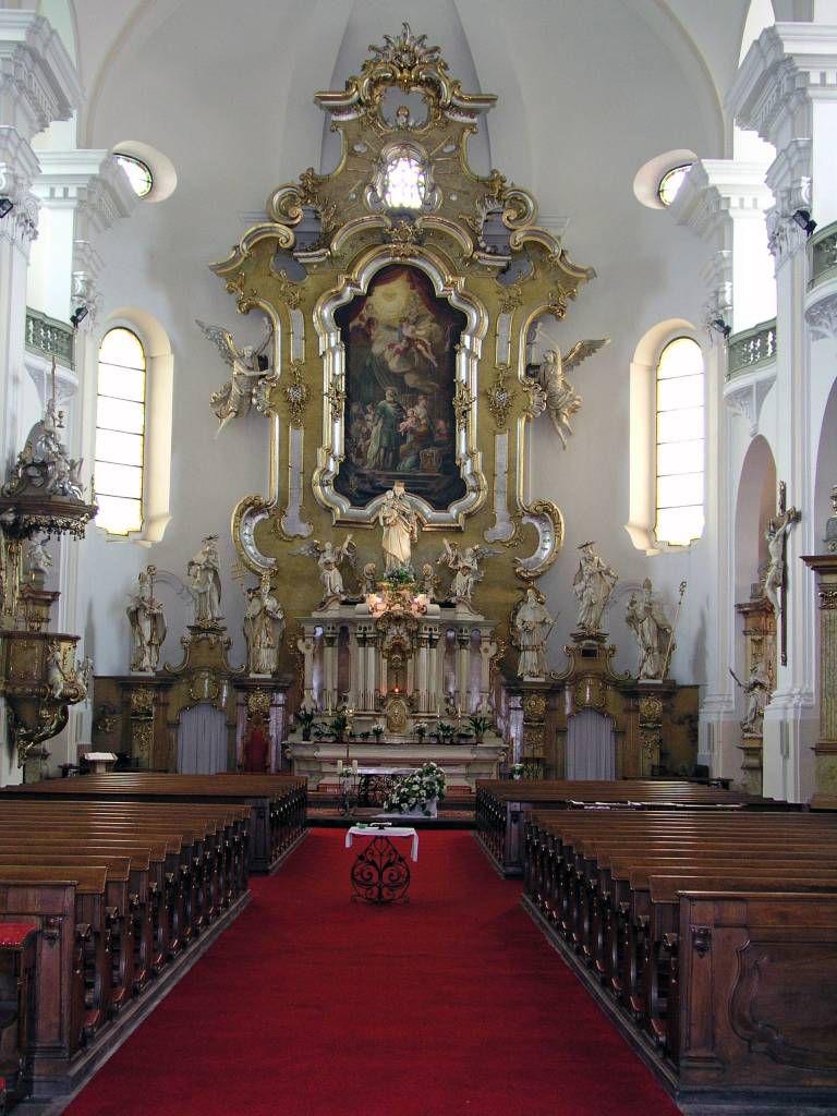Trautenau, Altar der Marienkirche