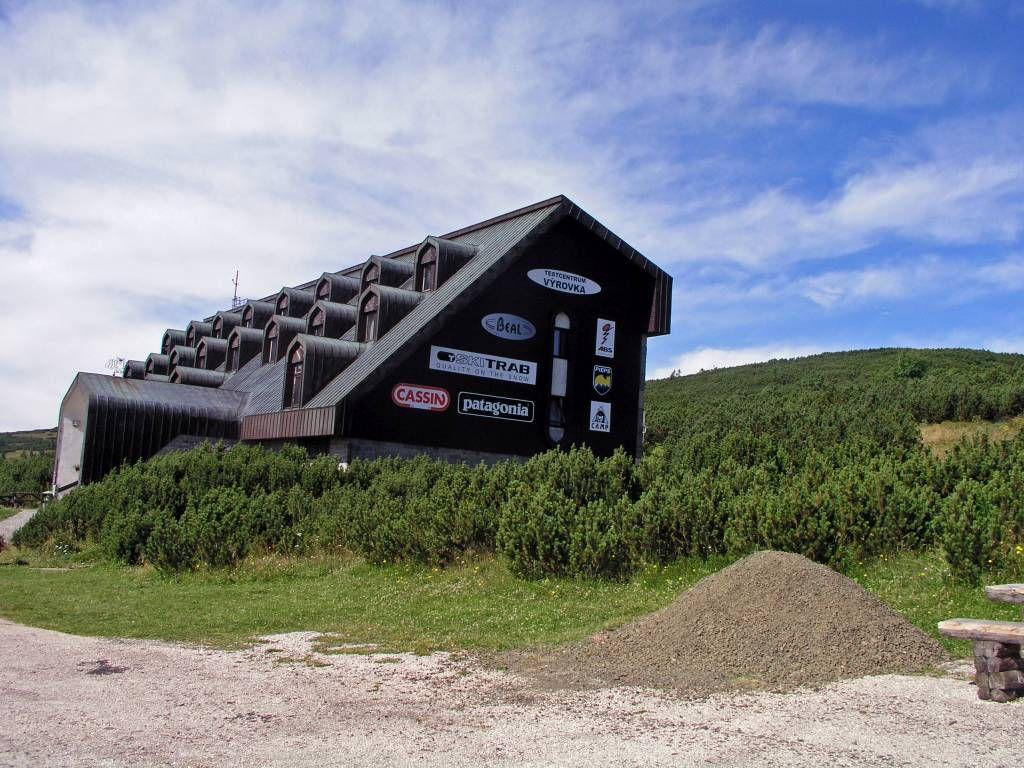 Spindlermühle, Berghütte Geiergucke (Vyrovka Baude)
