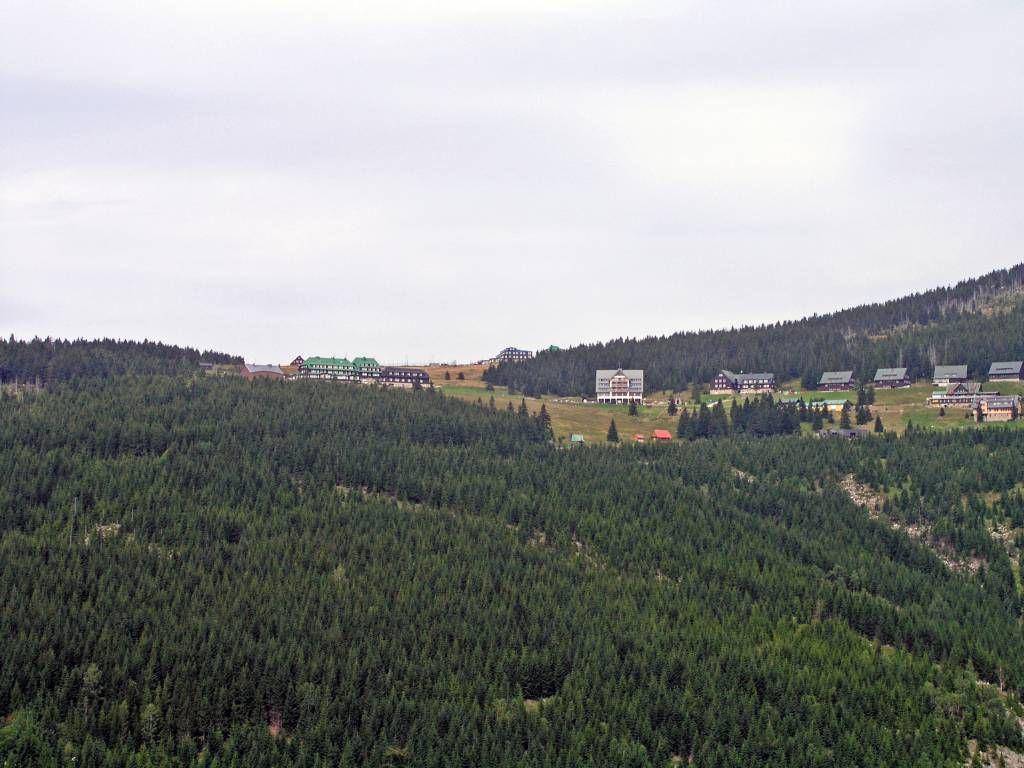 Spindlermühle, Weg an der weißen Elbe, Blick in Richtung Spindlerbaude