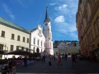 Trautenau, Blick Richtung Rathaus und Marktplatz