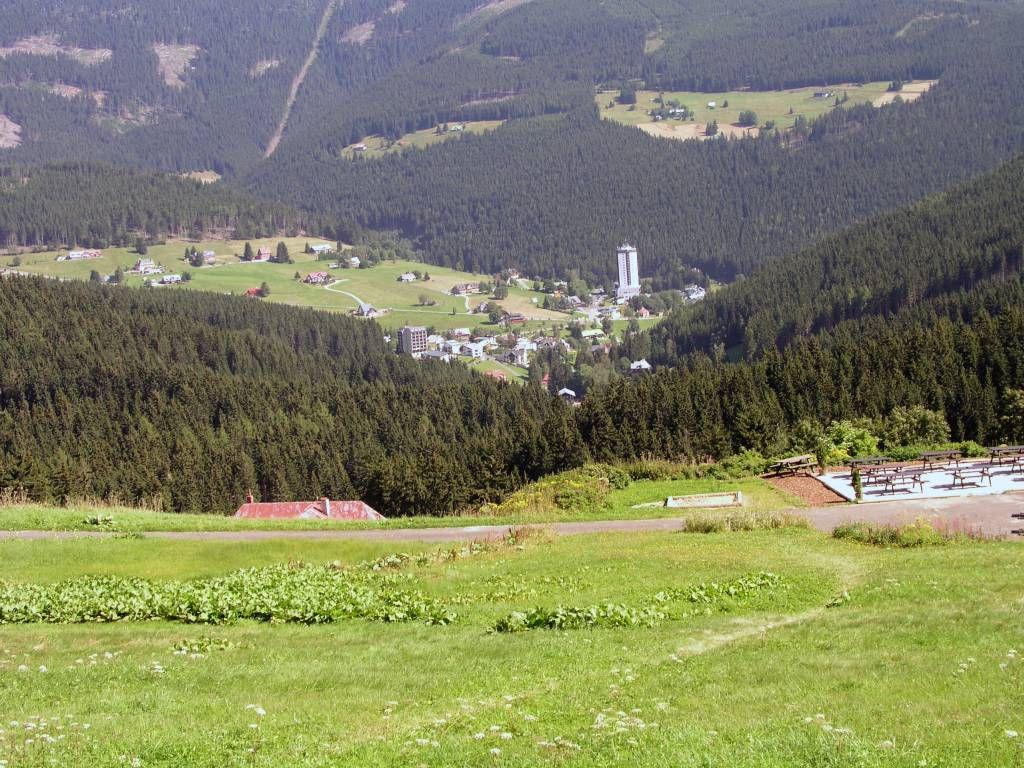 Petzer, Blick auf den Ort von Südwesten