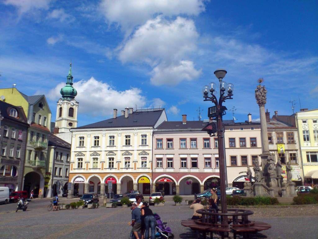 Trautenau, Marktplatz