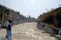 Ephesus, Römische Ausgrabungen, Hauptstraße
