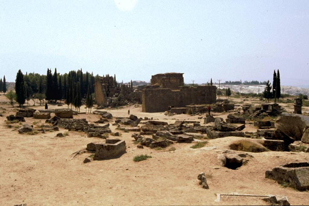 Hierapolis, Römische Ausgrabungen