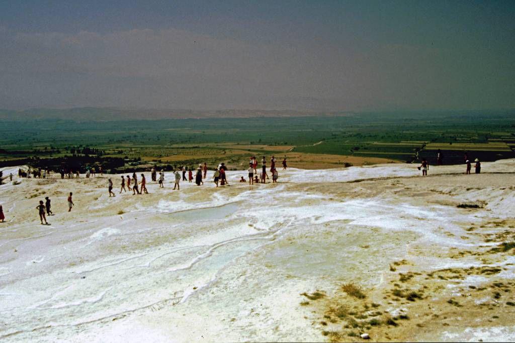 Pamukkale, Kalkterrassen